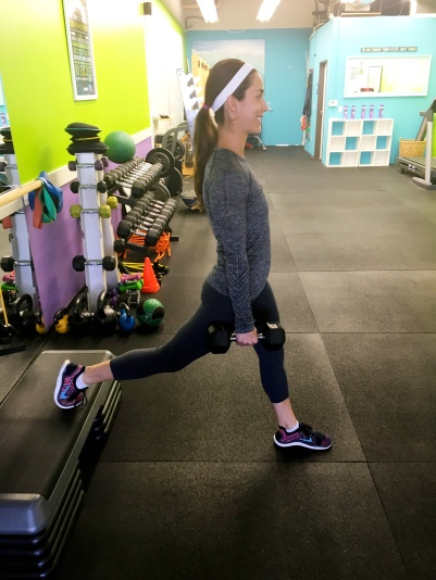 backward lunge 1