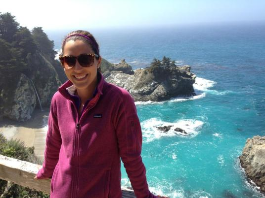 First time in Big Sur