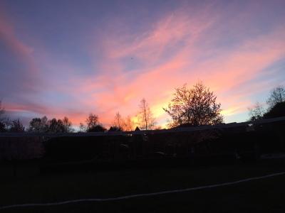 sunset vday