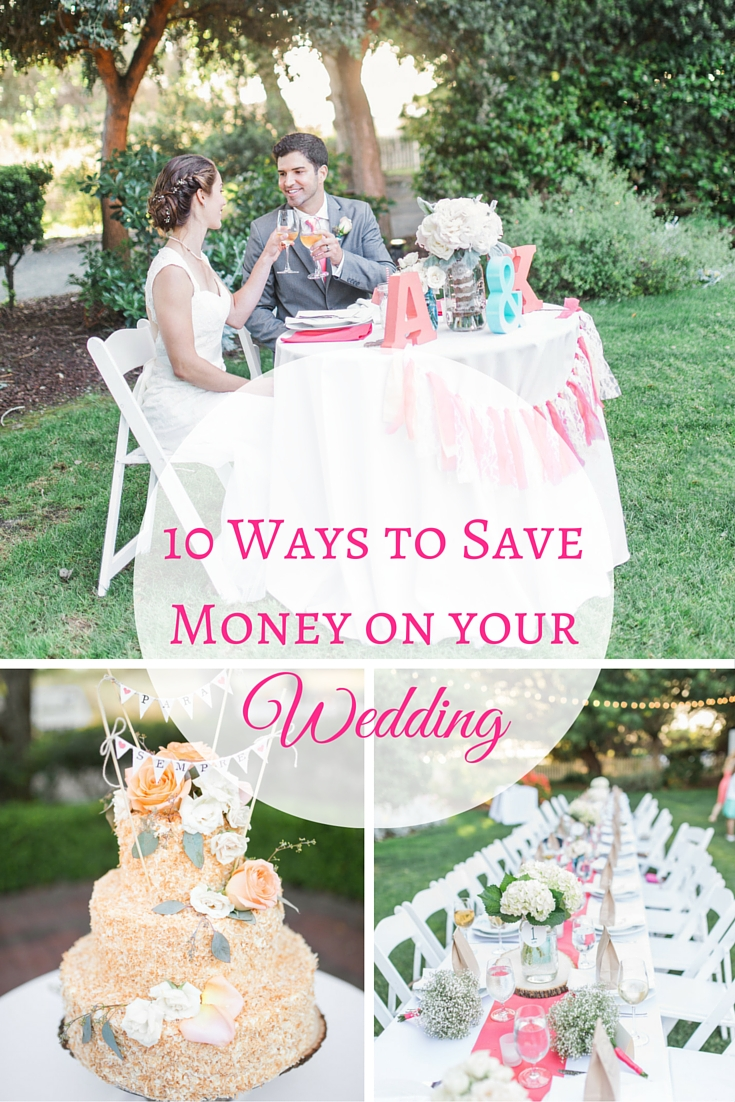 10 Ways to Save Money on your wedding collage (2)