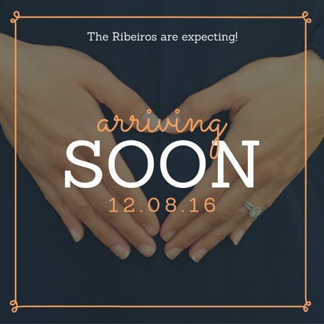 The Ribeiros are expecting!